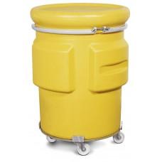 Fassroller aus Stahl Typ DT 6, verstellbar, für 200-Liter-Fässer, Sicherheits- und Bergungsfässer