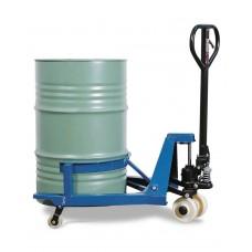 Fasshubwagen aus pulverbeschichtetem Stahl, für 200-Liter-Fässer