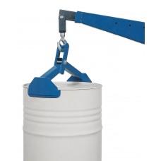 Fasszange FZ 600 aus Stahl, lack., zum vertikalen Heben von 200-Liter-Sicken- oder Spannringfässern