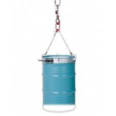Fassgehänge, feuerverzinkt, mit Manschette aus Stahl, für 200-l-Fässer