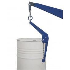 Fasszange FZ-S aus Stahl, zum vertikalen Heben von 200-Liter-Sickenfässern