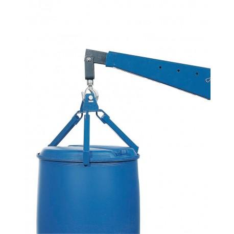 Fassgreifer P 360 zum vertikalen Heben von 200-Liter-Stahl- und 220-Liter-Kunststoff-L-Ringfässern