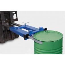Fassklammer SK-S, Stapleranbaugerät aus Stahl lackiert, für 1 x 200-l-Stahl- oder Kunststofffass