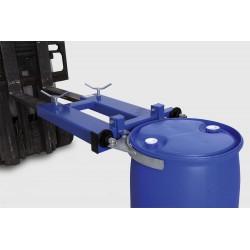 Fassklammer SK-S, Stapleranbaugerät aus Stahl lackiert, für 1 x 200-l-Stahl- oder Kunststofffass kaufen