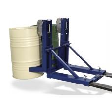 Fassgreifer SH 2 aus Stahl, lackiert, für 2 Fässer à 200 Liter