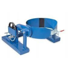 Fasswender SVK aus Stahl, lackiert, für 200-Liter-Fässer, mit Endloskette