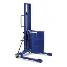 Fasslifter FL 16-SK F, lackiert, hohes Fahrwerk, für 200-220-l Stahl-und Kunststofffässer
