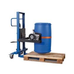 Fasslifter FW 8 aus Stahl, lackiert, mit Hydraulikpumpe, für 60- bis 220-l-Fässer kaufen