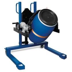 Fasslifter FW 12 aus Stahl, lackiert, mit Hydraulikpumpe, für 60- bis 220-l-Fässer kaufen