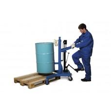 Fasslifter LD aus Stahl, lackiert, rechtwinkliges Fahrwerk, für 200-Liter-Stahlfässer