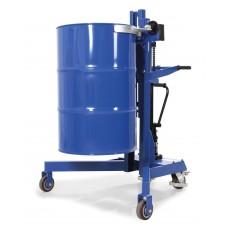 Fasslifter LD-SK aus Stahl, für Stahl- und Kunststoff-Fässer 200-220-L, Fahrwerk V-Form, lackiert