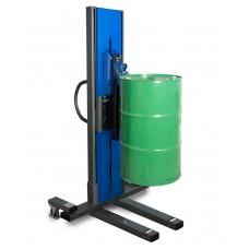 Fasslifter Secu Drive, schmales Fahrwerk, H 2135 mm, Typ M für 60-/200-l-Stahlfässer, elektr. Hub