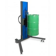 Fasslifter Secu Drive, gespreiztes Fahrwerk, H 2255 mm, Typ M für 60-/200-l-Stahlfässer, elektr. Hub