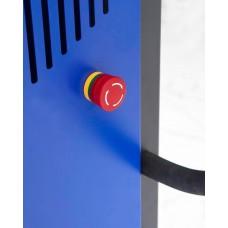 Fasslifter Secu Drive, breites Fahrwerk, H 2135 mm, Typ SK für 200-/220-l-Fässer, elektr. Hub