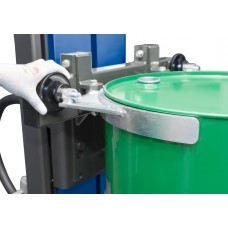 Fasslifter Secu Drive, gespreiztes Fahrwerk, H 2255 mm, Typ SK für 200-/220-l-Fässer, elektr. Hub