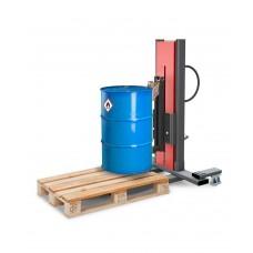 Fasslifter Secu Ex, schmales Fahrwerk, H 1635 mm, Typ M für 60-/200-l-Stahlfässer, AtEx