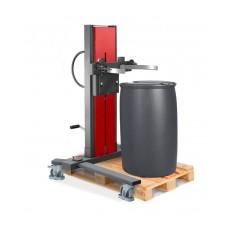 Fasslifter Secu Ex, gespreiztes Fahrwerk, H 1755 mm, Typ SK für 200-/220-l-Fässer, AtEx