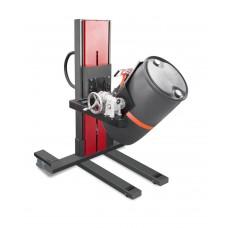 Fasslifter Secu Ex, schmales Fahrwerk, H 2135 mm, Typ W drehbar, für 60-bis 220-l-Fässer, AtEx