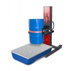 Fasslifter Secu Ex, breites Fahrwerk, H 2135 mm, Typ W drehbar, für 60-bis 220-l-Fässer, AtEx kaufen