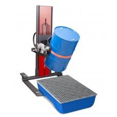 Fasslifter Secu Ex, breites Fahrwerk, H 2135 mm, Typ W drehbar, für 60-bis 220-l-Fässer, AtEx